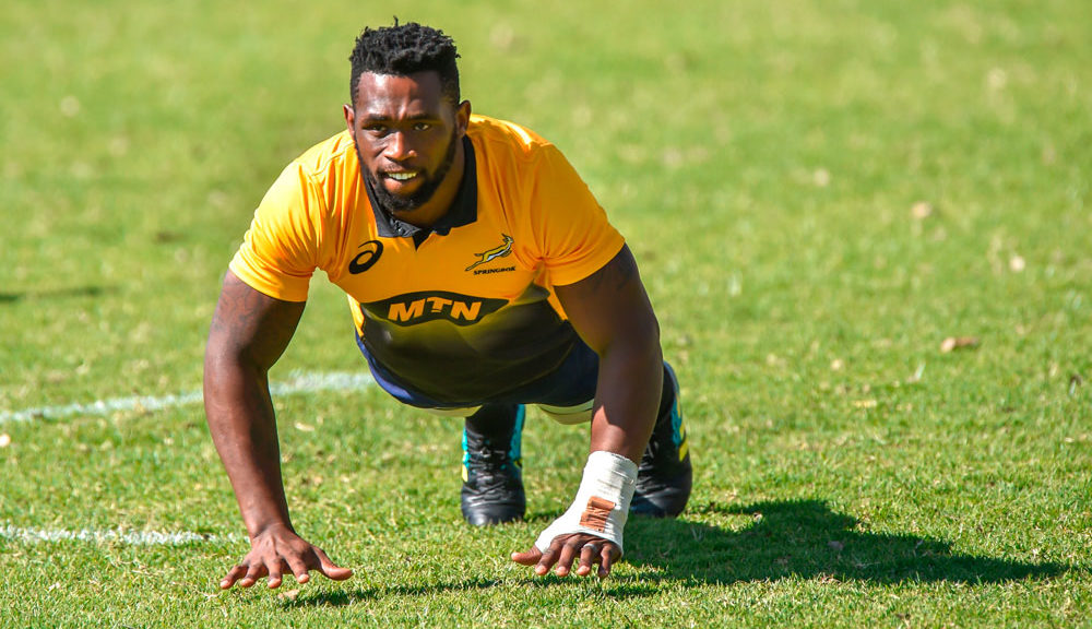 Siya Kolisi is set to captain the boks against England